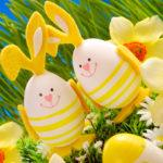 easter decoration in grass